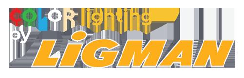 Ligman Color Lighting - Logo